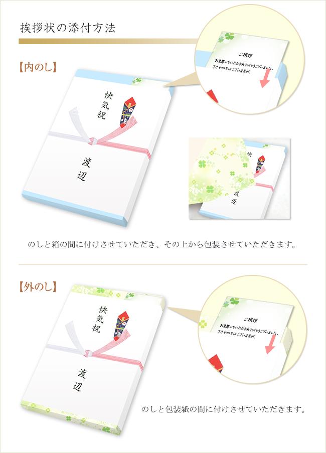 シンプルな文章(快気祝い用挨拶状カード)
