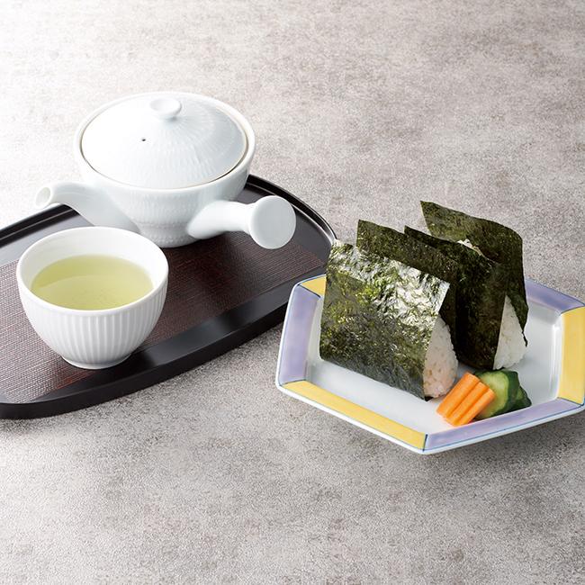 深蒸し煎茶・味付海苔・南高梅詰合せ No.25