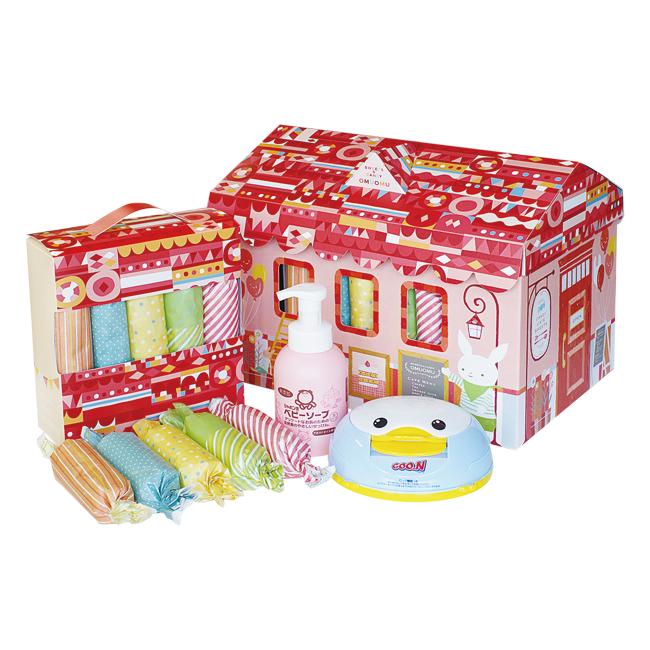 おむつBOX Mサイズ No.50 (女の子用) | 出産祝いおすすめ